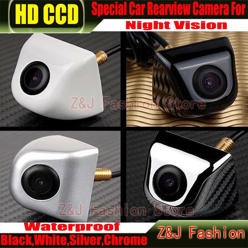 Hot Selling CCD HD Rearview Waterproof night vision 170 degree Wide Angle Luxur car rear view camera reversing backup camera(China (Mainland))