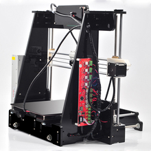 High Precision Reprap Prusa i3 DIY 3d Printer kit (with 1 Roll Filament 16GB SD card,LCD) Material Big size 220*220*235mm Hot