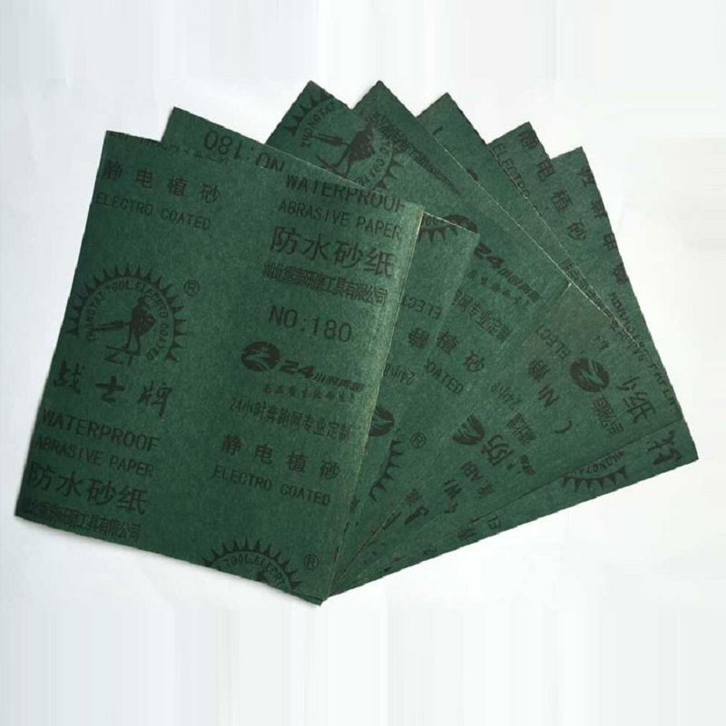 Pack Of 20 Sanding Sheets 1000 Grit Wet And Dry Paper Sandpaper