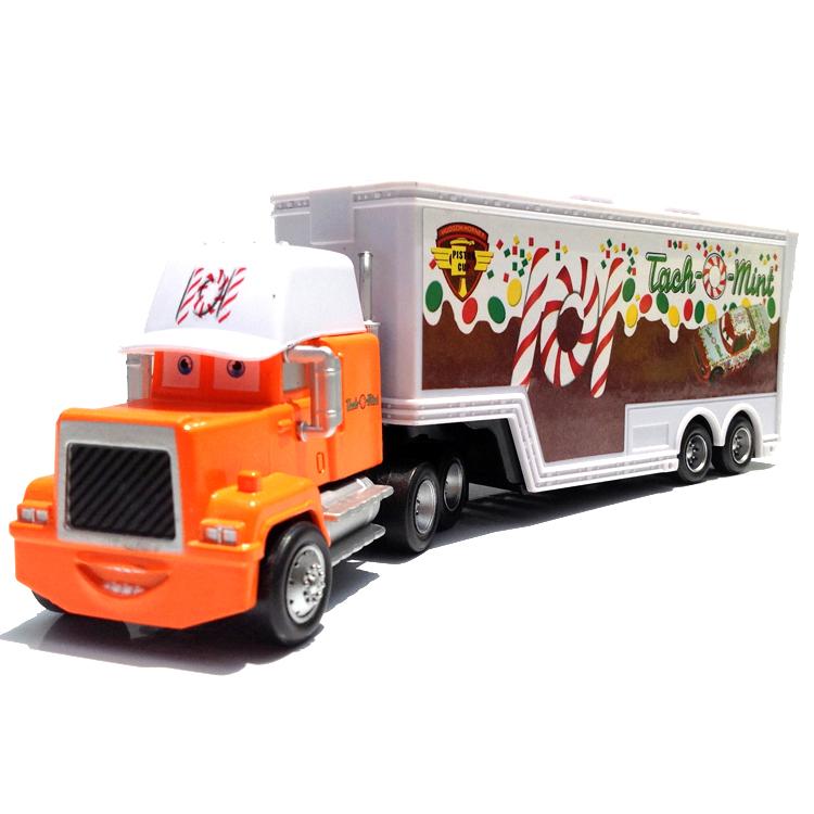 Toy Race Trucks : Free shipping brand new pixar cars tach o mint hauler