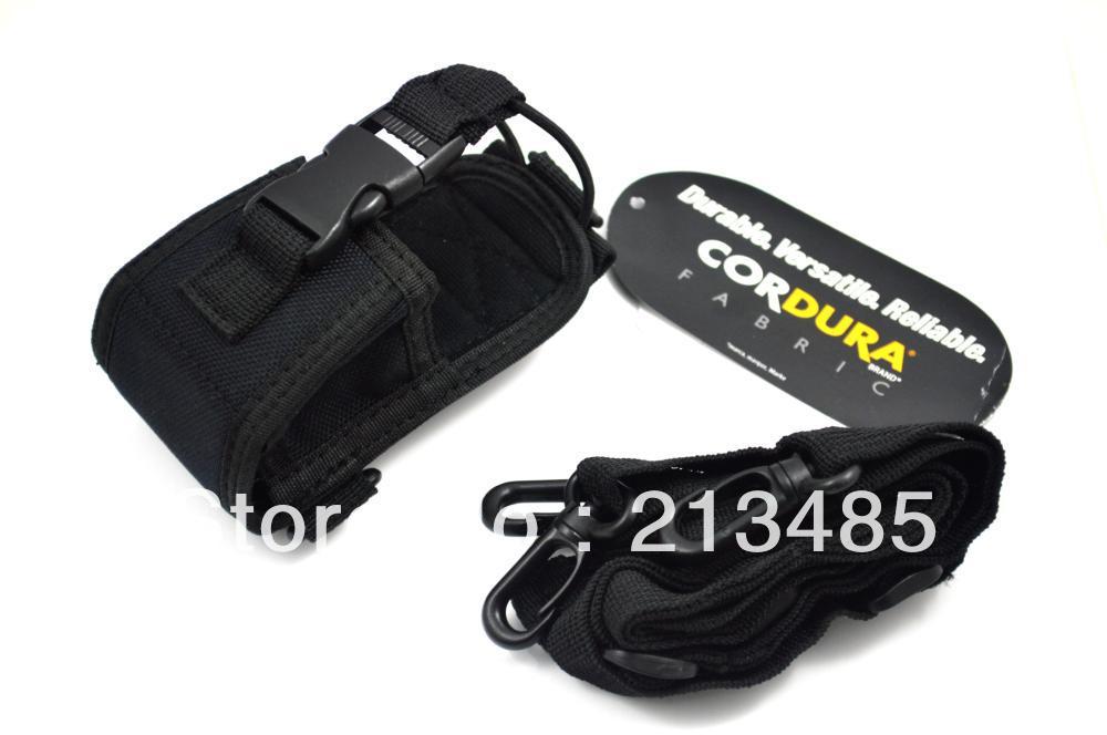 Nylon Carrying Case with Strap for Motorola GP344/GP328Plus EX500/EX600/DX600XL/GL2000/PRO5150+ Yaesu Vertex Kenwood ICOM(China (Mainland))
