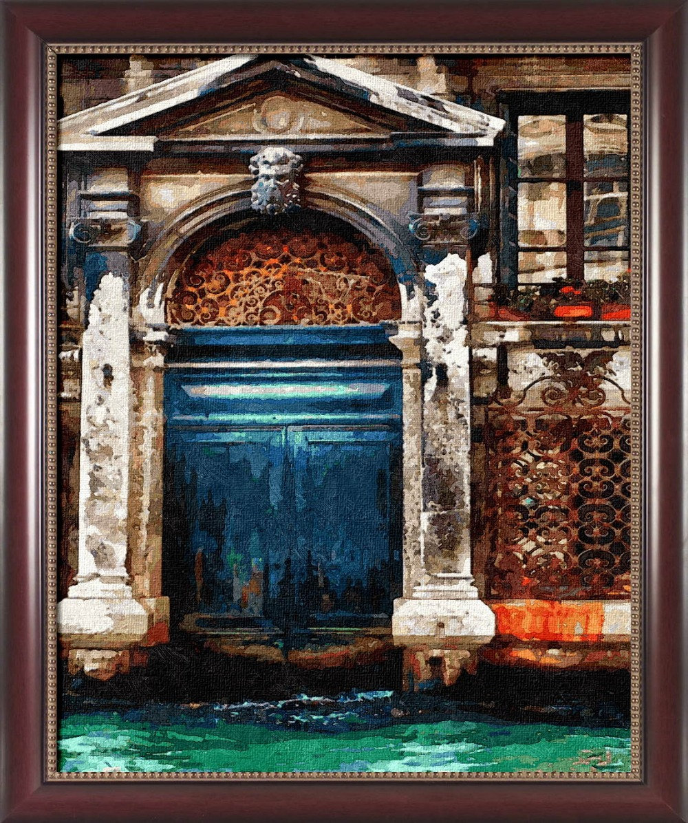 Buy framed painting by number paint by numbers for home decor frame picture oil - Home decor promo code paint ...
