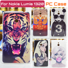 New Ultra-thin cell phone case for nokia lumia 1320 back cover Free Shipping(China (Mainland))