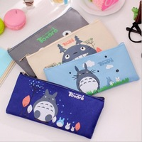 Cute Cartoon My Neighbor Totoro Oxford Pencil Bag Stationery Storage Organizer Case School Supply Student Prize