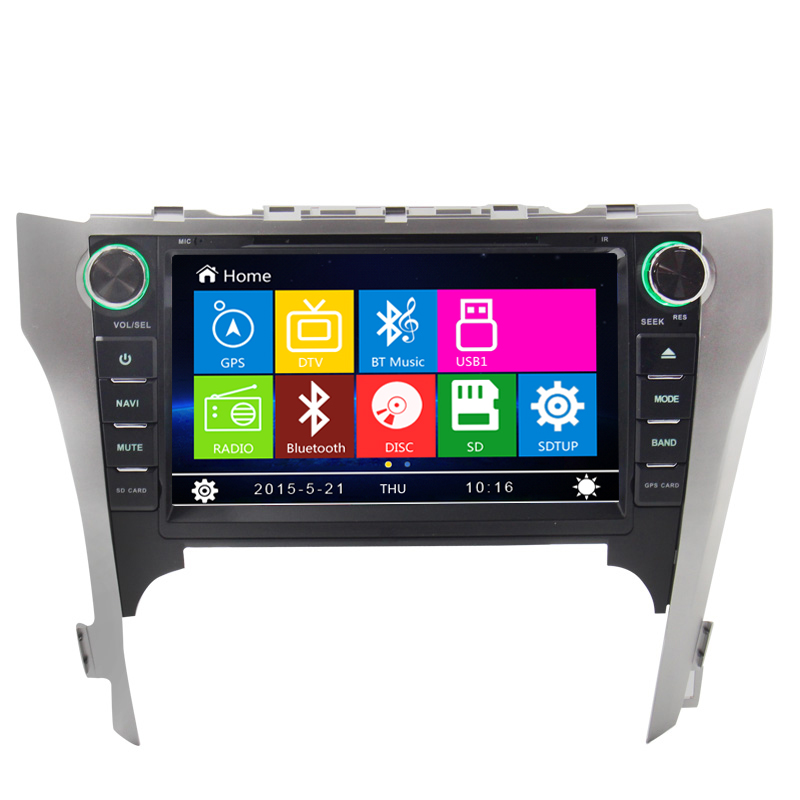 Best stable Wince 6.0 car dvd player GPS nevigation for Toyota Camry 2012 dashboard placemen with ipod rds FM bluetooth(China (Mainland))