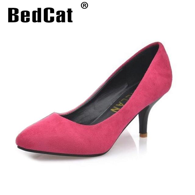Новый бренд туфли на каблуках женщины острым носом партия обуви женщина мода на высоких ...