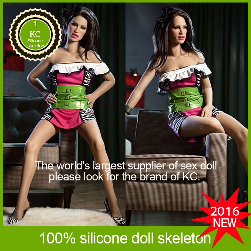 2016 NEW 165cm Top quality lifelike real silicone sex dolls life size female dolls, adult sex dolls for men artificial vagina(China (Mainland))