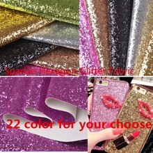 Chunky Sparkle Hexagon Thick Glitter Fabric TC/PU  Faux Leather Backing  Wallpaper/ Furniture  Wedding Party Carpet Shoe Purser(China (Mainland))