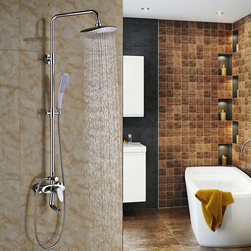 Altura del grifo de ducha compra lotes baratos de altura for Grifos mezcladores para ducha