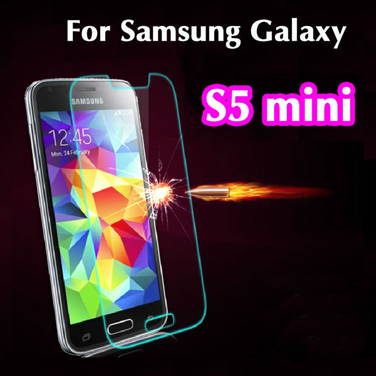 Ultra Thin 0.26mm 2.5D Explosion Proof Premium Tempered Glass Screen Protector Film For Samsung Galaxy S5 Mini G800F<br><br>Aliexpress