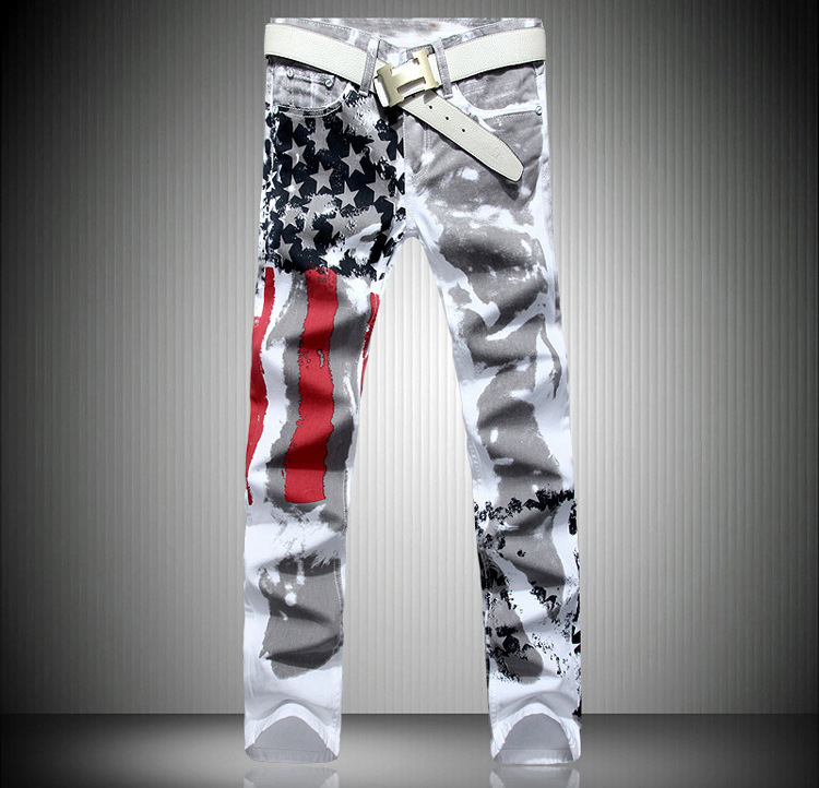 Popular Jeans Us Flag-Buy Cheap Jeans Us Flag lots from China ...