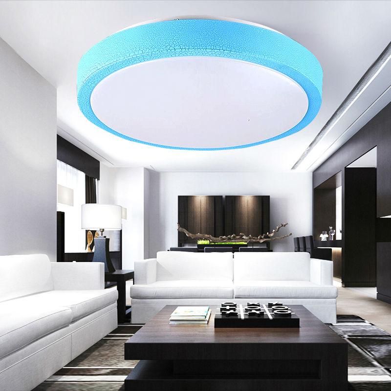 surface mounted modern led ceiling lights for living room light fixture LED ceiling lights Dia 350mm 110V 120V 130V 16W 36W 45W(China (Mainland))