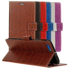 """Buy Cover Mobile Phone Case Doogee Shoot 2 5"""" Flip PU Leather Crocodile pattern Design Holster Bag Card Slot Wallet Holder Stand for $7.99 in AliExpress store"""