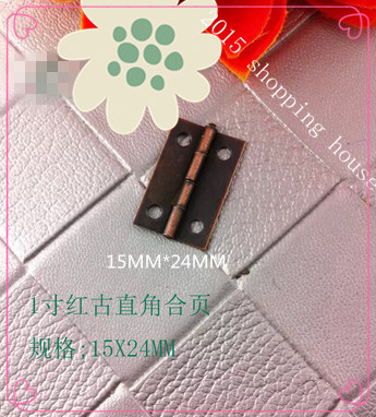 1 inch round small wooden jewelry box hinges hinge for luggage lock box jewelry box a6(China (Mainland))