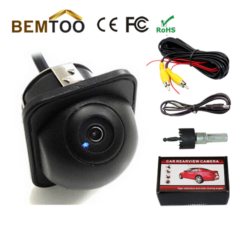Wholesale170 Wide Angle HD Night Vision Car CCD Rear View Camera Reverse Backup Color parking Camera,Free Shipping(China (Mainland))