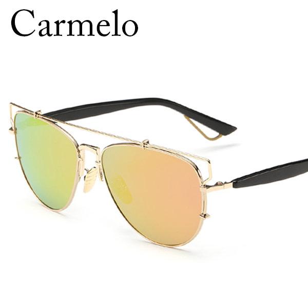 Carmelo Colorful Women Sunglasses Oval Fashion Ultrathin Alloy Frames Sun glasses Polarized  UV400 Protection Glasses CM#2503Одежда и ак�е��уары<br><br><br>Aliexpress