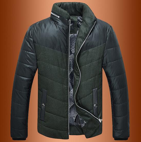 Autumn/winter Male New Thick Down Jacket  Super Light Solid Men Slim Fit CoatОдежда и ак�е��уары<br><br><br>Aliexpress