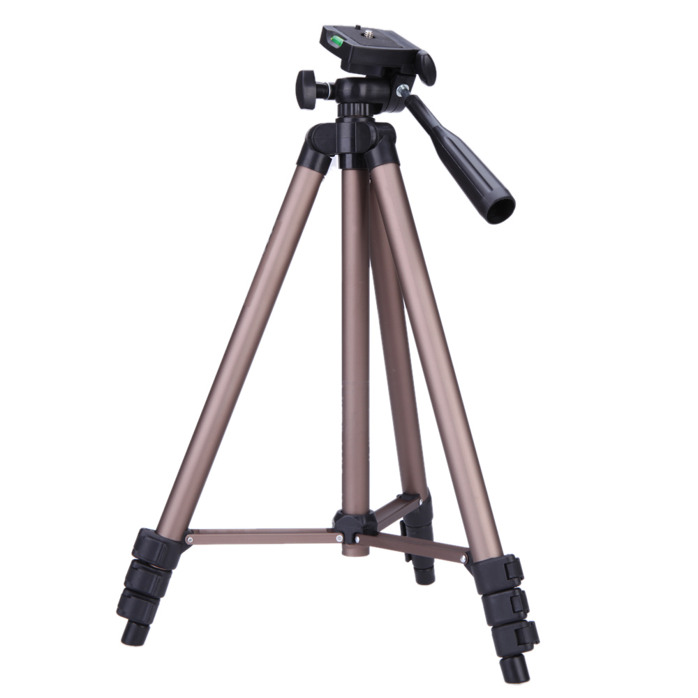 WT3130 Protable Camera Tripod Aluminum alloy with Quick release plate Rocker Arm for Canon Nikon Sony DSLR Camera DV Camcorder(China (Mainland))