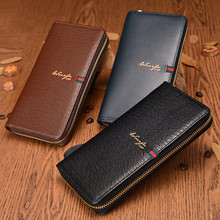 New Arrival Famous Brand Mens Wallet High Quality Pu Leather Zipper Purse Fashion Clutches Wallets Men