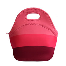 lancheira thermo thermal insulated neoprene lunch bag for women kids lunchbags tote with zipper cooler lunch box insulation bag(China (Mainland))