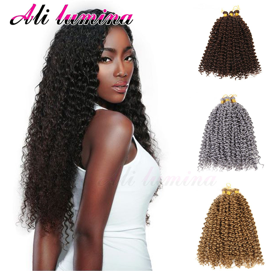 Crochet Braids No Hook : 28 Crochet Braids Freetress Water Wave Latch Hook 100g/Pc Afo Kinky ...