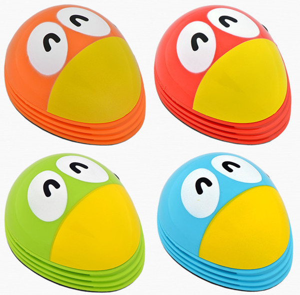 Hot Selling ! Cute Toucan cartoon Mini Desktop Vacuum Desk Dust Cleaner New Portable For Home Office(China (Mainland))