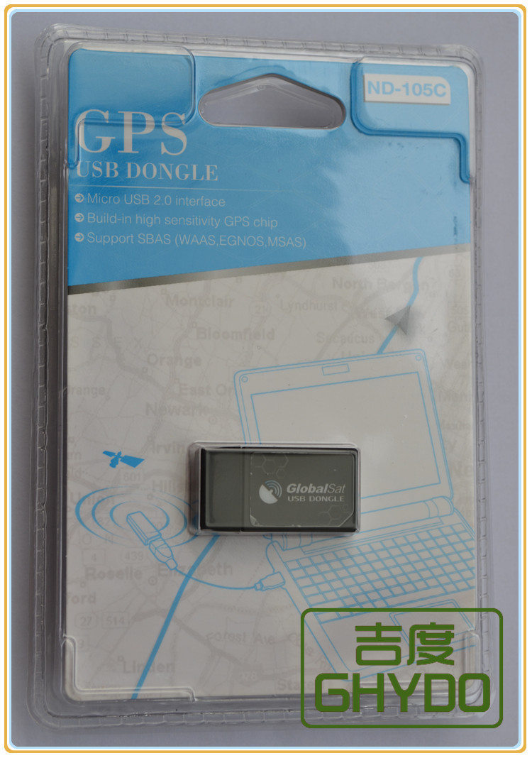 Original seal brandnew Globalsat Authorized 105C ND-105C advanced ND100S MINI G-mouse tablet USB Dongle Micro USB GPS receiver(China (Mainland))