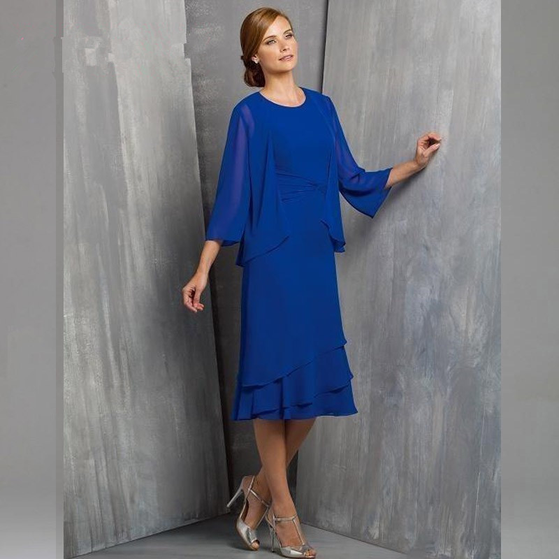 Most Popular 2016 Mother Of The Bride Dresses Royal Blue