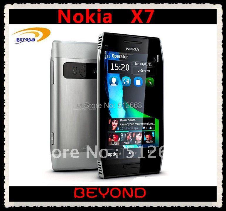 Nokia X7-00 original unlocked 3G GSM mobile phone X7 WIFI GPS 8MP(China (Mainland))