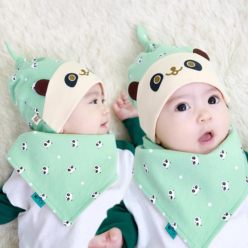 Baby Hat Cotton Scarf Infant Hats Set Child Cap Kids Girl Hat Crochet Mohair Newborn Baby Boy Accessories Protective Helmet C268(China (Mainland))