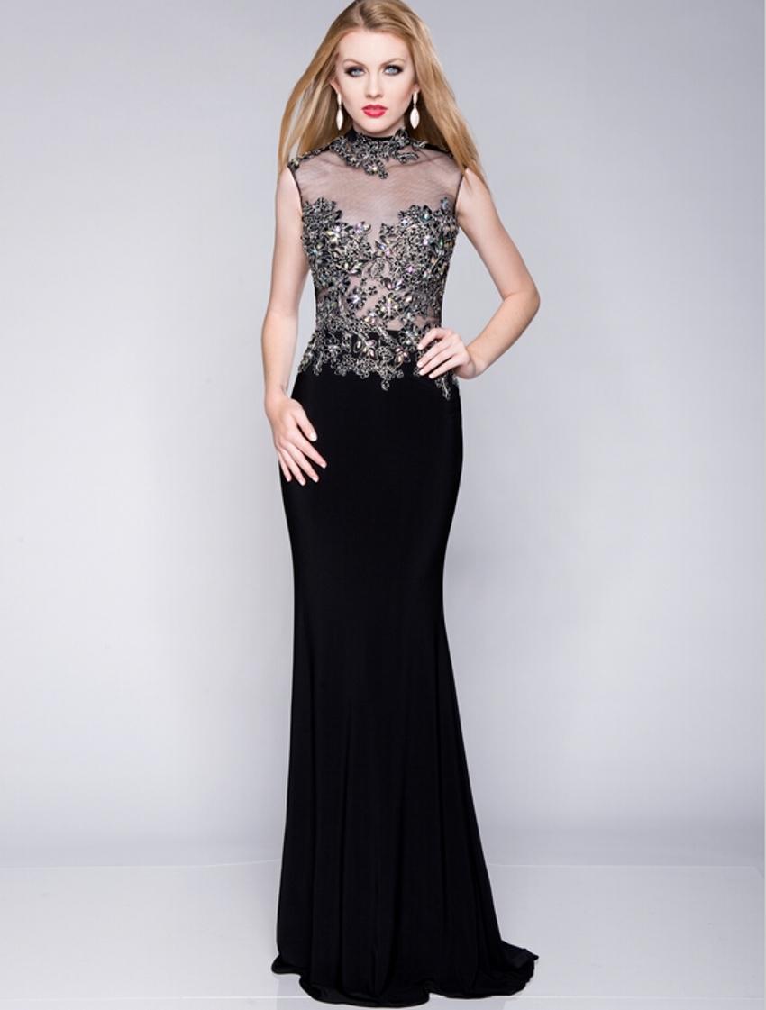 Cheap long black dresses
