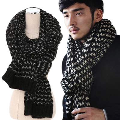 2014 Fashion Novelty Unisex Soft Warmer Winter Long Geometric Pattern Crochet Scarves Women Men Scarf - Shenzhen Sundah Tech Co., Ltd.(Craft & Gift Dept. store)
