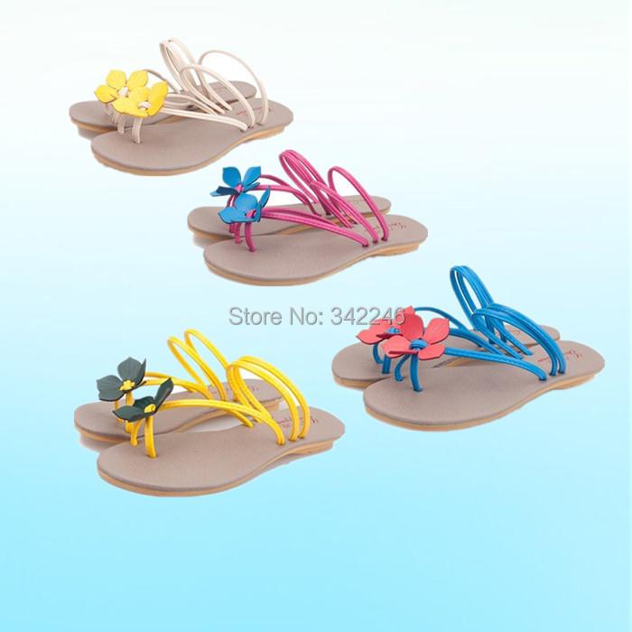 Fashion new 2015 summer shoes woman sandals bohemian sweet style women flats flip flops Wedges sandal Girl sandy beach - Timeless Love store