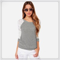 New-2015-Fashion-Brand-T-Shirt-Women-Long-Sleeve-Sexy-Lace-Crochet-T-Shirt-Embroidery-Knitted (2)