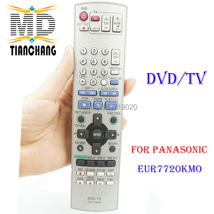 EUR7720KMO remote controller for PANASONIC LCD TV/VCR/DVD controle remoto(China (Mainland))