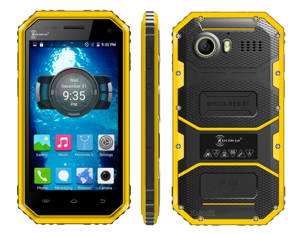 Rugged Android Waterproof Smartphone extreme W6 4G LTE ultra slim phone 2016 cellular original Quad Core IP68 Smartphone GPS(China (Mainland))