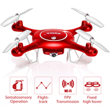 Buy Syma X5UW Newest Drone WiFi Camera HD 720P Real-time Transmission FPV Quadcopter 2.4G 4CH RC Helicopter Dron Quadrocopter for $73.90 in AliExpress store