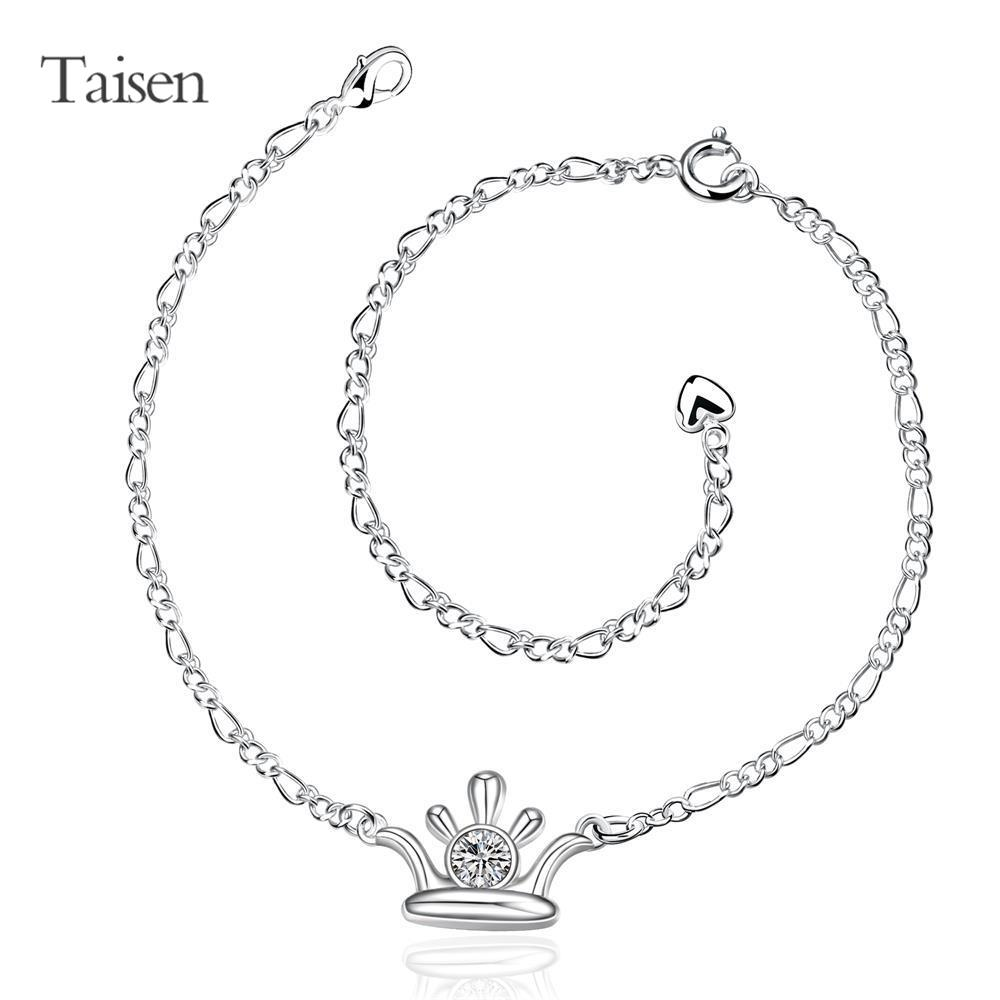 cat foot jewelry fashion women's summer anklet silver causal ankle chain 20+10cm chain on foot love heart fashion stone style(China (Mainland))