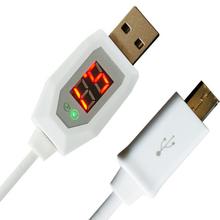 Мирко USB Кабель ЖК-Цифровой Индикатор Тока Напряжение Протектор Для Samsung Lenovo Huawei ZTE OPP Xiaomi Зарядное Устройство Доктор Провода