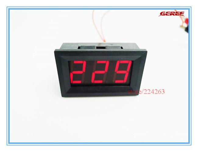 0.56 Red LED Digital Voltmeter Volt Panel Meter AC 75-300V Power Voltage Panel Meter<br><br>Aliexpress