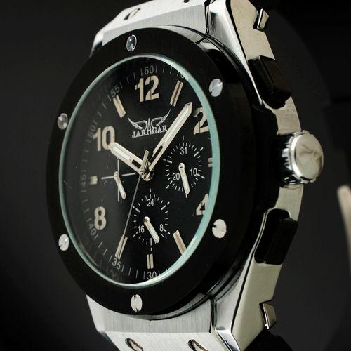 Jargar male commercial watch 6 needle table casual mechanical watch mens watch jjs006