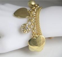 Ocean jewelry fashion New arrival hot sale rhinestone metal cuff jewelry s090(China (Mainland))