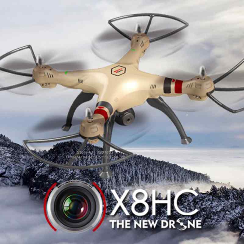 2016 New SYMA X8HC 2 4Ghz 6 Axis Gyro RC Quadcopter font b Drone b font