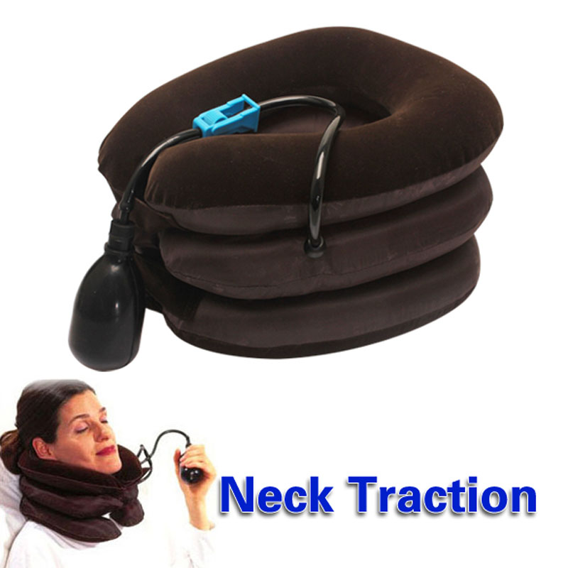 High Quality Free Shipping Braces Supports Air Cervical Neck Traction Soft Brace Device Unit A Best Price Massager(China (Mainland))