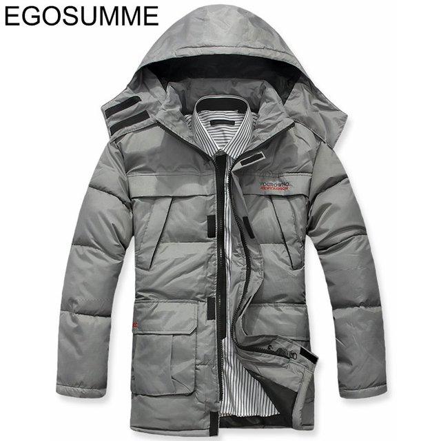 New discount down-padded coat men's jacket with hood fashion down parka men winter wool coat jacket men coat winter D012