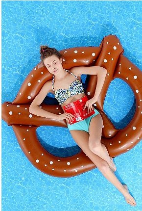 Water floats floating row Inflatable floating pool swimming toys for women and chidren(China (Mainland))