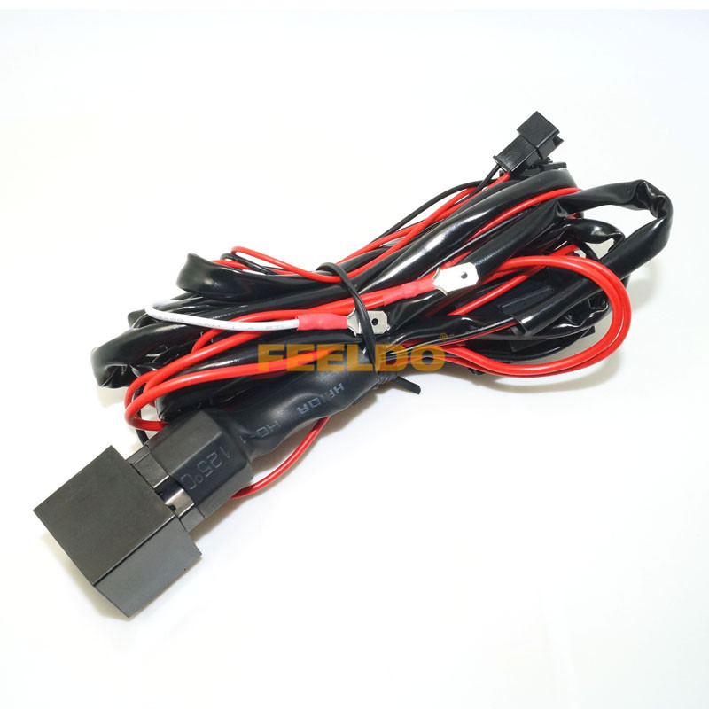 Relay wiring harness kit for bmw ccfl led angel eyes light
