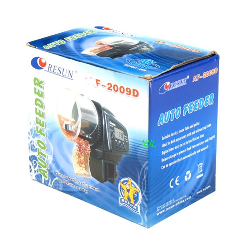New LCD Automatic Aquarium Fish Feeder Food Fish Tank Auto Timer Pet Feeder With Original Box 20Sets/Lot EMS FreeShipping(China (Mainland))