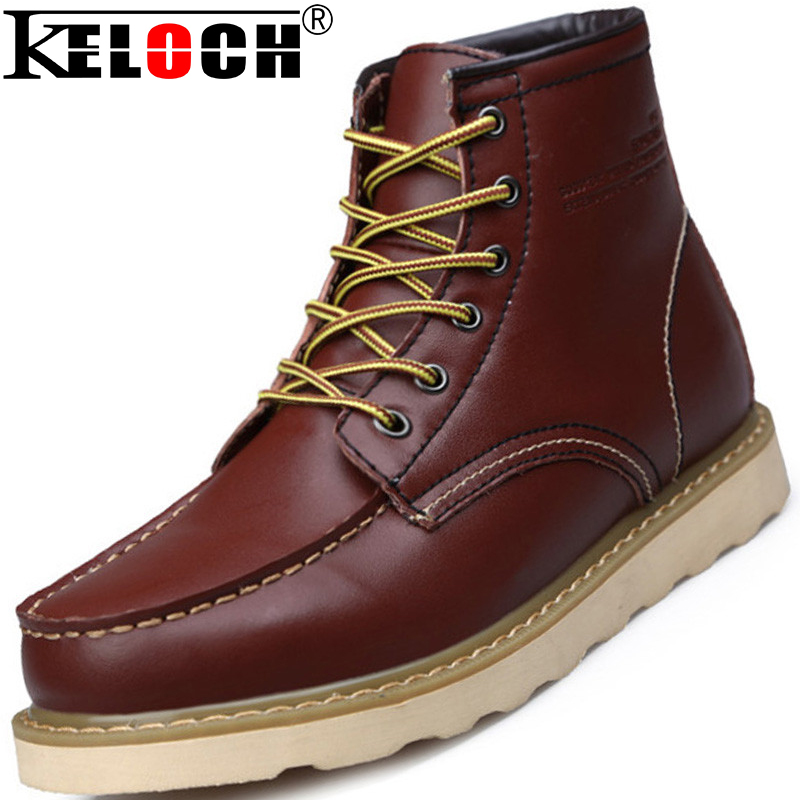 winter boots men shoes work genuine leather winter warm quality work boots chaussure homme. Black Bedroom Furniture Sets. Home Design Ideas