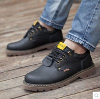 New Fashion Men England Style Shoes Round Toe Man Outdoor Boots Bullok Winter Platforms Waterproof Boots 79